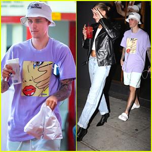 Justin Bieber Grabs Burgers With Wife Hailey After Second Wedding