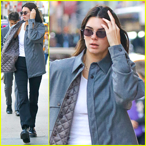 Kendall Jenner Switches Up Her Look For NYC Stroll