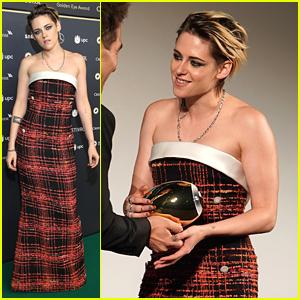 Kristen Stewart Honored With The Golden Eye Award at Zurich Film Festival
