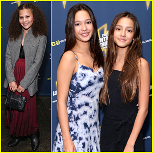 Lily Chee & Bryce Lorenzo Attend 'The Lightning Thief: The Percy Jackson Musical' Opening Night!
