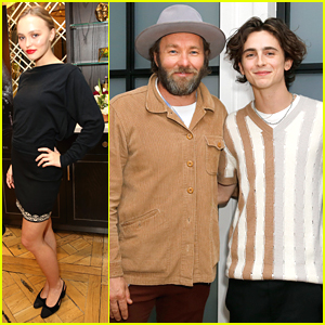 Lily-Rose Depp & Timothee Chalamet Attend Special Screening of 'The King'
