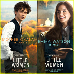 Emma Watson, Timothee Chalamet & More Get 'Little Women' Character Posters!