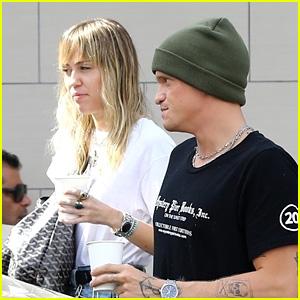 Miley Cyrus & New BF Cody Simpson Go on a Coffee Run