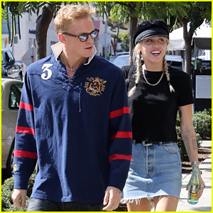 Miley Cyrus & Boyfriend Cody Simpson Enjoy a Day Date in LA