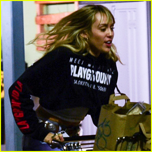 Miley Cyrus Has Some Fun on Grocery Run Ahead of the Weekend
