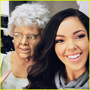 'Bunk'd' Star Miranda May Transforms Into an Old Lady for Halloween!