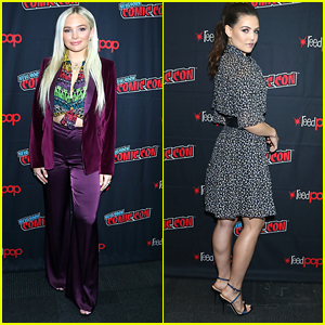 Natalie Alyn Lind Joins Danielle Campbell & Paul Wesley at 'Tell Me A Story' Panel During NYCC