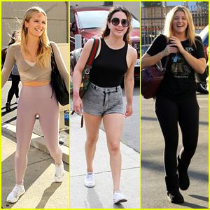 What Are Sailor Brinkley-Cook, Ally Brooke & Lauren Alaina Performing Tonight on 'DWTS'? Find Out!