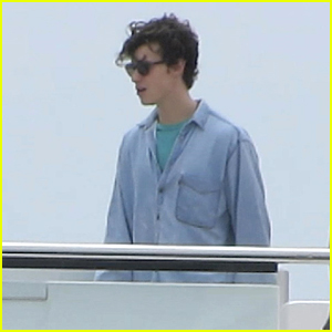 Shawn Mendes Hits The Sea on Yacht With Friends