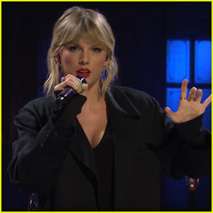 Taylor Swift Performs 'False God' During 'Saturday Night Live' - Watch!