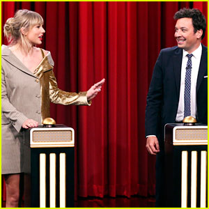 Taylor Swift Can't Guess Her Own Song During Face-Off With Jimmy Fallon - Watch!