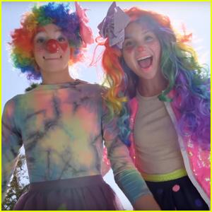 Annie LeBlanc & Jayden Bartels Transform Into Professional Clowns - Watch!