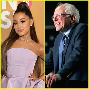 Ariana Grande Supports Bernie Sanders For President In New Post on Twitter