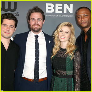 Katherine McNamara, Stephen Amell & More Share Their Goodbyes To 'Arrow' On Final Filming Day