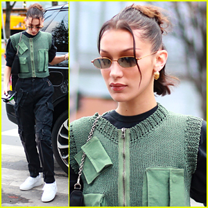 Bella Hadid Returns To Paris For Another Fashion Trip