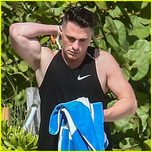 Colton Haynes Soaks Up The Sun in Miami Following 'Arrow' Wrap