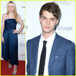 Dakota Fanning & Colin Ford Celebrate Talent Agent Cindy Osbrink at Heller Awards