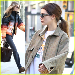Gigi Hadid & Kendall Jenner Escape NYC For a Road Trip Together