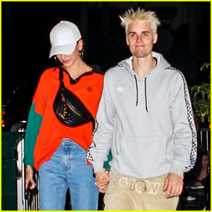 Justin Bieber Holds Hands with Hailey for Friday Night Sushi Date