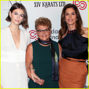 Kaia Gerber Attend Women's Guild Cedars-Sinai Luncheon with Her Mom & Grandma!