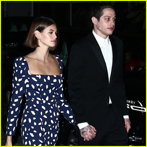 Kaia Gerber & Pete Davidson Step Out for Friend's Wedding!