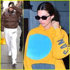 Kendall Jenner Keeps It Comfy After A Photoshoot in NYC