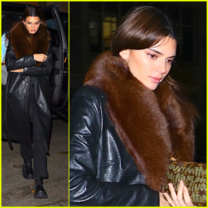 Kendall Jenner Spends Time With Some Pals in NYC Before Heading Back to LA