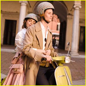 Kiernan Shipka Has A Roman Holiday in Fendi's New 'Baguette Friends Forever' Short Film