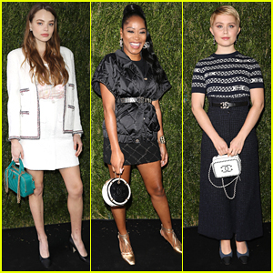Kristine Froseth & Keke Palmer Glam Up For Through Her Lens Luncheon