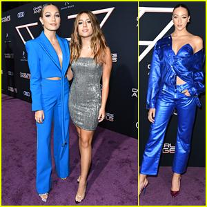 Maddie Ziegler & Ava Michelle Go Blue at 'Charlie's Angels' Premiere