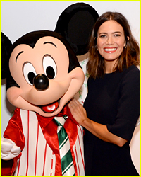Mandy Moore Kicks Off Holiday Toys for Tots Campaign with Disney