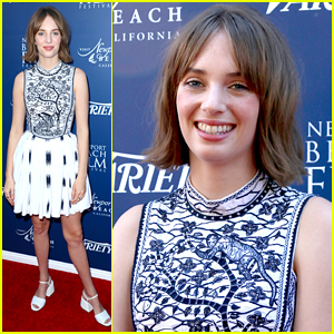 Maya Hawke Honored at Variety's Ones To Watch Event During Newport Film Festival