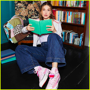 Millie Bobby Brown Reveals Her New Collection With Converse