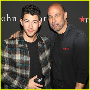 Nick Jonas Celebrates New John Varvatos Fragrance On Day Off In Miami