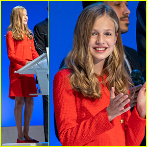 Princess Leonor of Spain Honors Young Entrepreneurs at Princesa de Girona Foundation Awards 2019