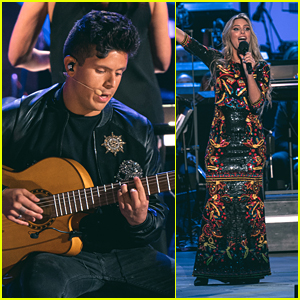Rudy Mancuso & Lele Pons Perform at the 'Coco' Concert Experience at Hollywood Bowl