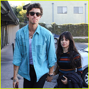 Shawn Mendes & Camila Cabello Kick Off Their Weekend with a Sushi Lunch!