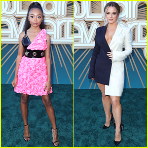Skai Jackson & JoJo Step Out For Soul Train Awards 2019