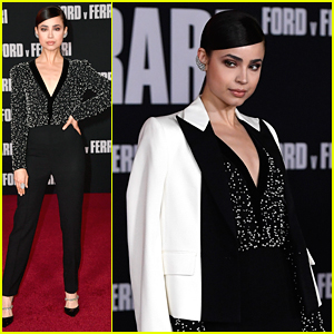 Sofia Carson Serves Major Looks at 'Ford v Ferrari' Premiere
