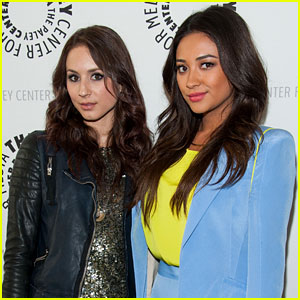 Troian Bellisario Reacts to Her Daughter's 'PLL' Connection... Which Shay Mitchell's Daughter Has Too!