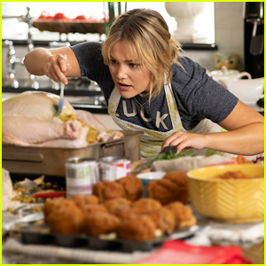 Olivia Holt's 'Turkey Drop' Movie Is Premiering on Saturday - See All The New Pics Now!