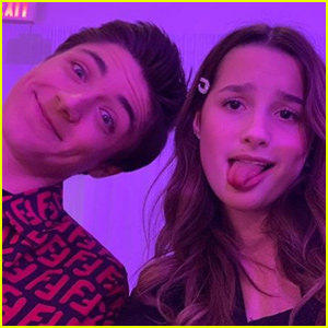 Annie LeBlanc & Asher Angel Have a Dance Off - Watch!