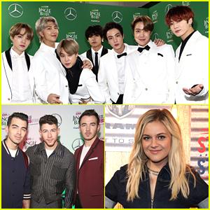 BTS, Jonas Brothers & Kelsea Ballerini Among Performers For Dick Clark's Rockin' New Year's Eve