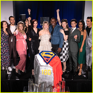 Melissa Benoist & 'Supergirl' Cast Hit 100 Episode Milestone!