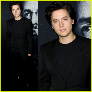 Cole Sprouse Shows Support at 'Uncut Gems' Premiere