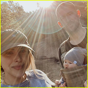 Daniella Monet Takes Son Gio on First Family Hike!