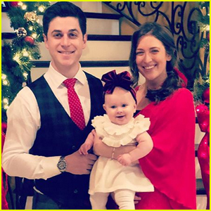 David Henrie Shares Adorable Christmas Photo with Wife Maria & Daughter Pia!