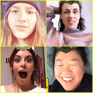 Annie LeBlanc, Kenzie Ziegler, Madisyn Shipman & More Have The Most Hilarious Reactions To The Disney Filter on Instagram