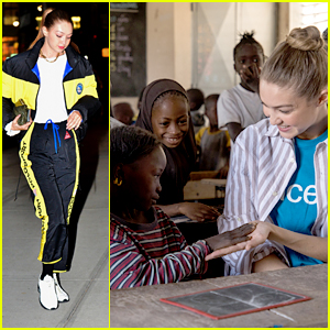 Gigi Hadid Returns To NYC After A 'Powerful' Trip To Senegal with UNICEF