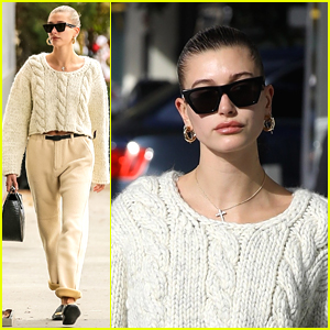 Hailey Bieber Gets Pampered In Beverly Hills